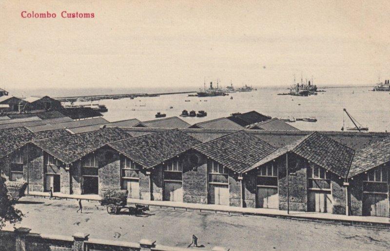 COLOMBO , Ceylon , 00-10s ; Customs