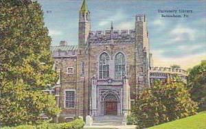 Pennsylvania Bethlehem University Library
