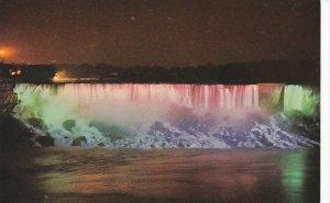 Canada Niagara Falls At Night