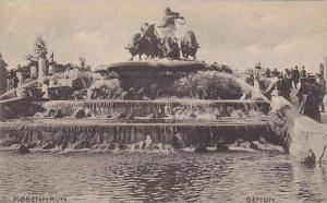 Gefion, Kobenhavn, Denmark, 1900-1910s