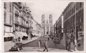 France Orleans Rue Jeanne-d'Arc et la Cathedrale Ste Croix Photo