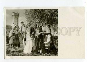 263089 ALBANIA Shkodra SHKODER native costume old Albturist