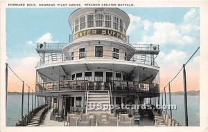 Forward Deck, Pilot House Buffalo NY Unused
