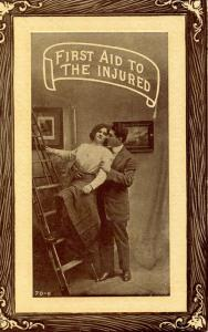 Couples - First aid to the injured