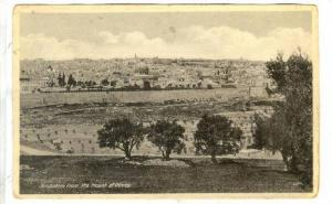 Jerusalem from the Mount of Olives, Israel, 00-10s