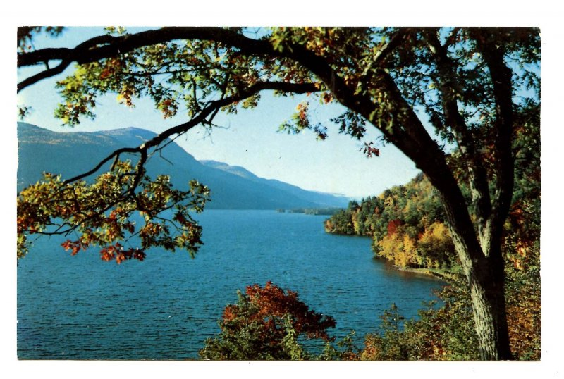 NY - Lake George. North Side of the Tongue Mountain Range