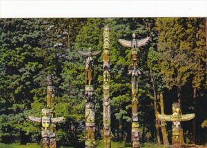 Canada Indian Totem Poles British Columbia