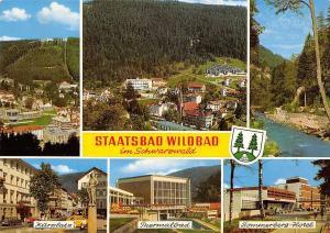 Staatsbad Wildbad im Schwarzwald, Kurplatz Thermalbad Sommerberg Hotel