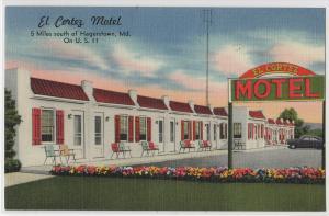 El Cortez Motel, Hagerstown MD