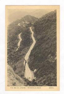 The Rio de Janeiro - Petropolis Road 30-40s