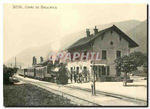Postcard Modern Baulmes G 4/4 4 Alineor SLM 1910 tet a train Yerdon. Photo D