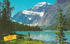 Canada Alberta Jasper Mount Edith Cavell