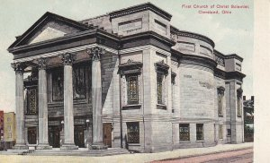 CLEVELAND, Ohio, 1900-1910s; First Church Of Christ Scientist
