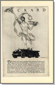 Awesome 1926 Packard Car/Auto/Automobile Ad, Classic!