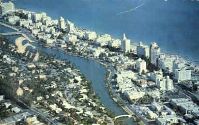 Fontainebleau Hotel Miami Beach Fl 1960 Hippostcard
