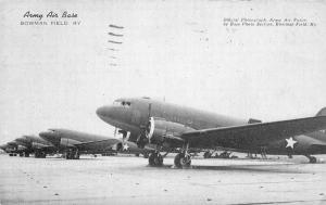Army Air Base Bowman Field Kentucky 1944 Postcard Southern Bell Telephone 3449
