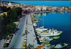 greece, LESBOS MYTILENE METELIN, Harbour Cars Boats 70s