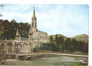 Postal 042764 : Lourdes. The New Bridge on the Gave