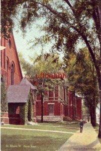 ST. ALBANS, VT CHURCH STREET 1907