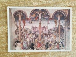 Post Card Italy Crucifixion by Giovanni Donato da Montorfano*P10