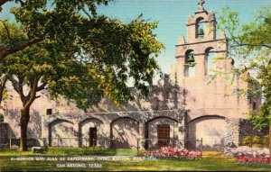 Texas San Antonio Mission San Juan De Capistrano Third Mission Built 1731