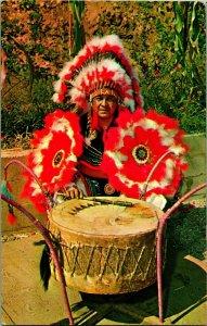 James Screamer Cherokee Indian Boy North Carolina Qualia Reservation Postcard