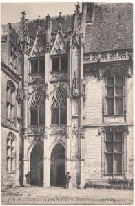 France, CHATEAU de CHATEAUDUN, Escalier flamboyant, unused Postcard