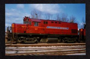 AR ARKANSAS & Missouri Railroad Train FORT SMITH RR PC