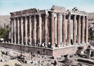 RP, Temple De Bacchus, BAALBEK, Lebanon, 1920-1940s