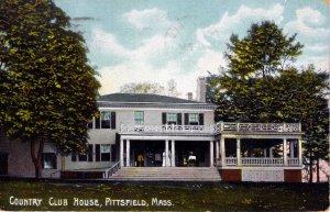 [ Litho-Chrome ] US Massachusetts Pittsfield - Country Club House