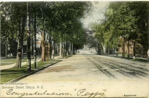 Genesee Street in Utica NY, New York - pm 1906