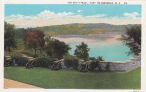 Scenic view, The South Wall,  Fort Ticonderoga, New York, 00-10s