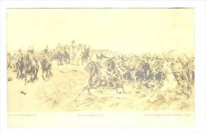 Calvary   men on horses, Freidland-1807  Postcard of painting, 00-10s