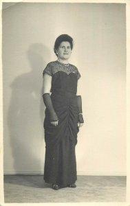 Photographers Howard & Regina Orwell Road Felixtowe portrait elegant woman dress