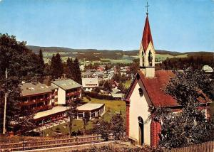 Hinterzarten Schwarzwald Kapelle Chapel General view Panorama