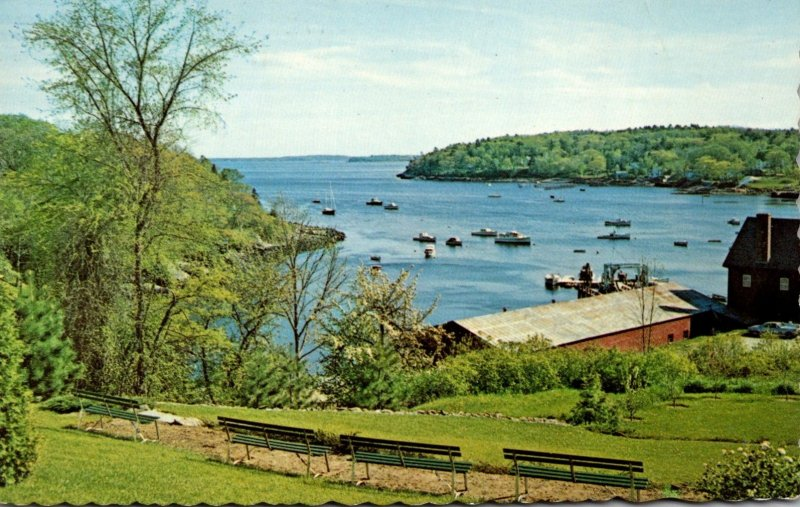 Maine Rockport Seen From Mary-Lea Park 1970