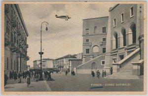 49737   CARTOLINA d'Epoca - FOGGIA citta' : Corso Garibaldi -- BELLA!!