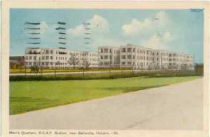 Men's Quarters, R.C.A.F. Station near Belleville, Ontario, Canada, PECO W/B