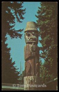 Totem Pole at Kiana Lodge