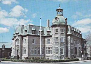 L'Hotel de Ville de Saint-Hyacinthe La Jolie, Province of Quebec, Canada, 40-60s