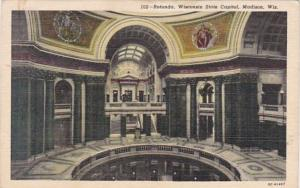 Wisconsin Madison State Capitol Rotunda Curteich