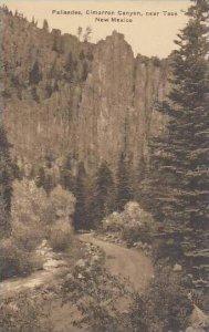 New Mexico Taos Palisades Cimarron Canyon  Albertype