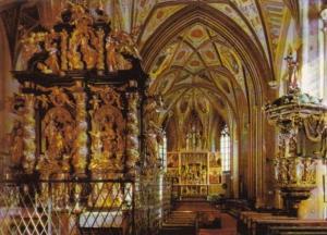 Austria St Wolfgang Wallfahrtskirche Innenraum