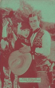 Cowboy Actor TED WELLS, 30s-40s, # 3
