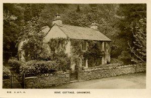 UK - England, Crasmere. Dove Cottage    *RPPC