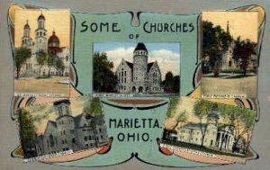 Some Churches of - Marietta, Ohio
