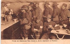 Red Cross Post Card, Old Vintage Antique Postcard American Red Cross LOC Cant...