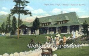 Jasper Park Lodge Canada, du Canada Canadian National Railway Station  Canadi...
