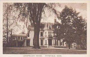 Massachusetts Pittsfield The Longfellow House Albertype