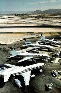American Trans Air Fleet Of Lockheed L-101 At Indianapolis International Airport